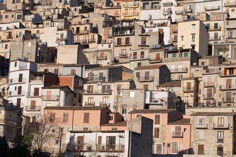 Cammarata, Sicile, Italie photographie stock libre de droits