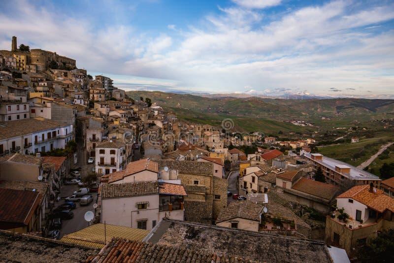 Cammarata, Sicile, Italie image libre de droits