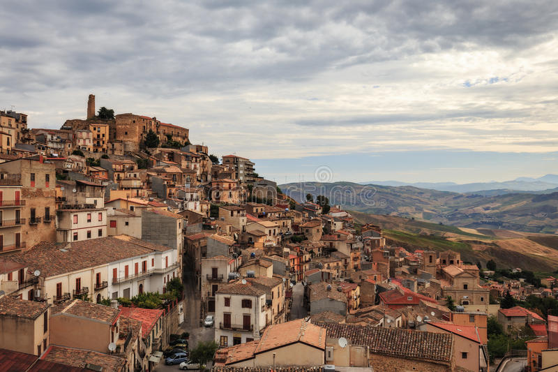 Cammarata, Sicile, Italie images libres de droits