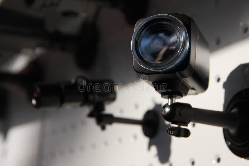 Camme di sicurezza del CCTV fotografie stock libere da diritti
