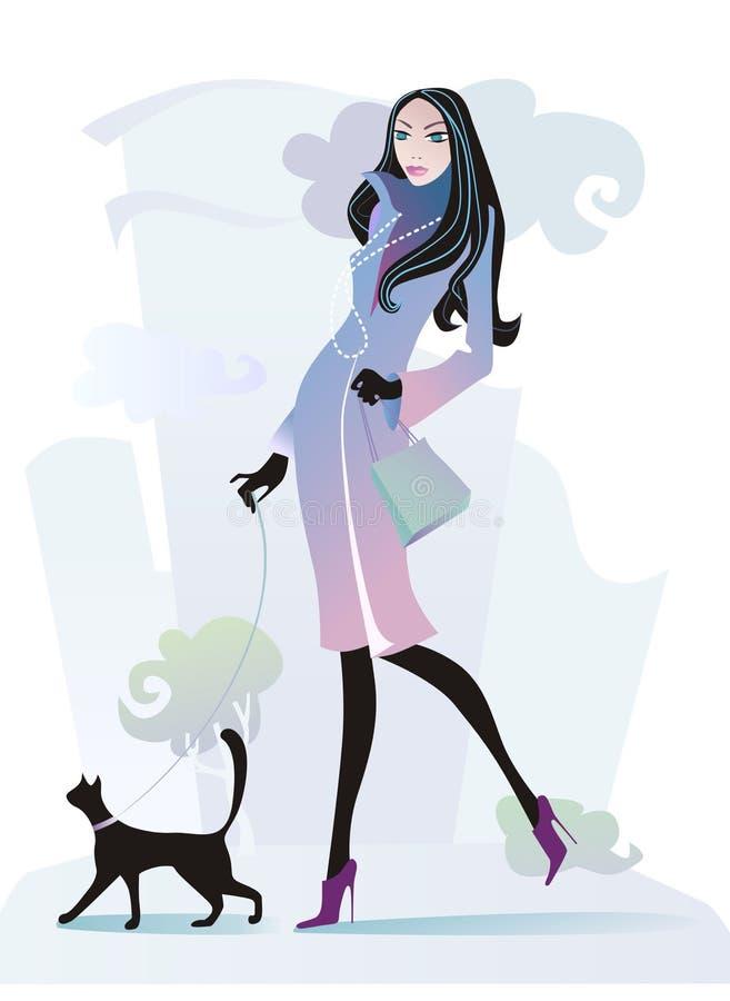 Camminare royalty illustrazione gratis