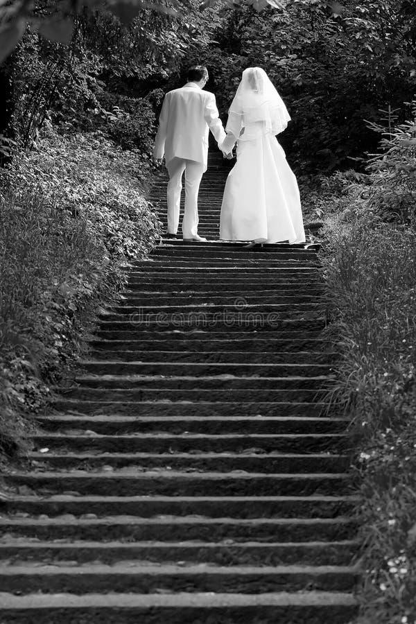 Camminare insieme fotografia stock
