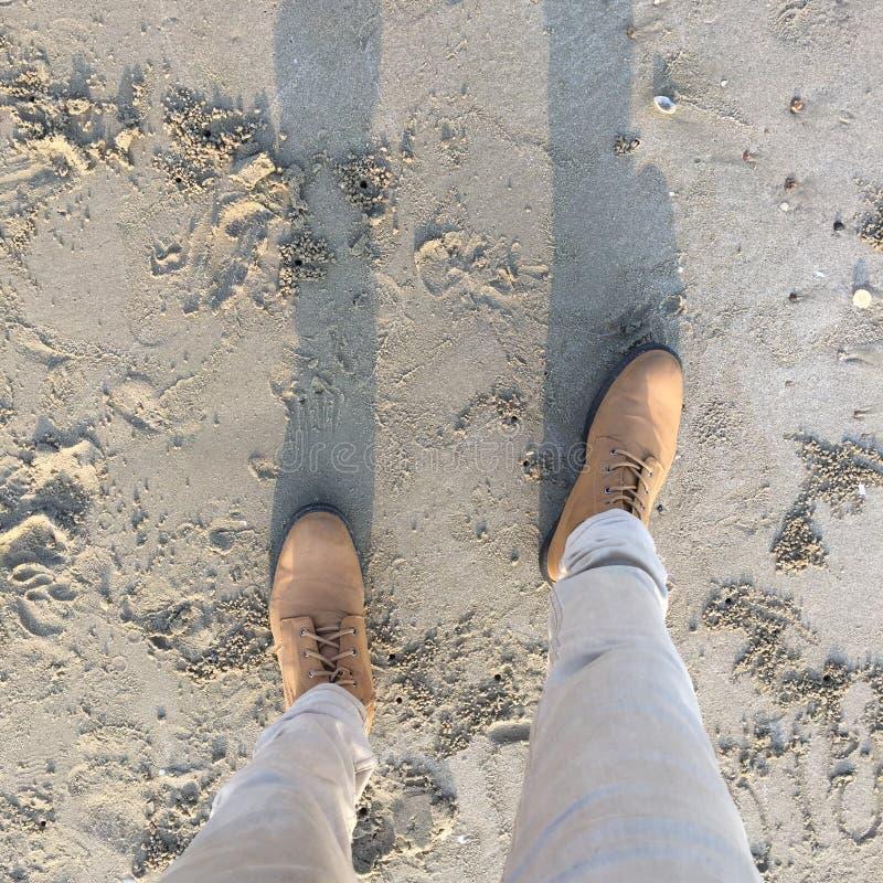 Camminata immagine stock