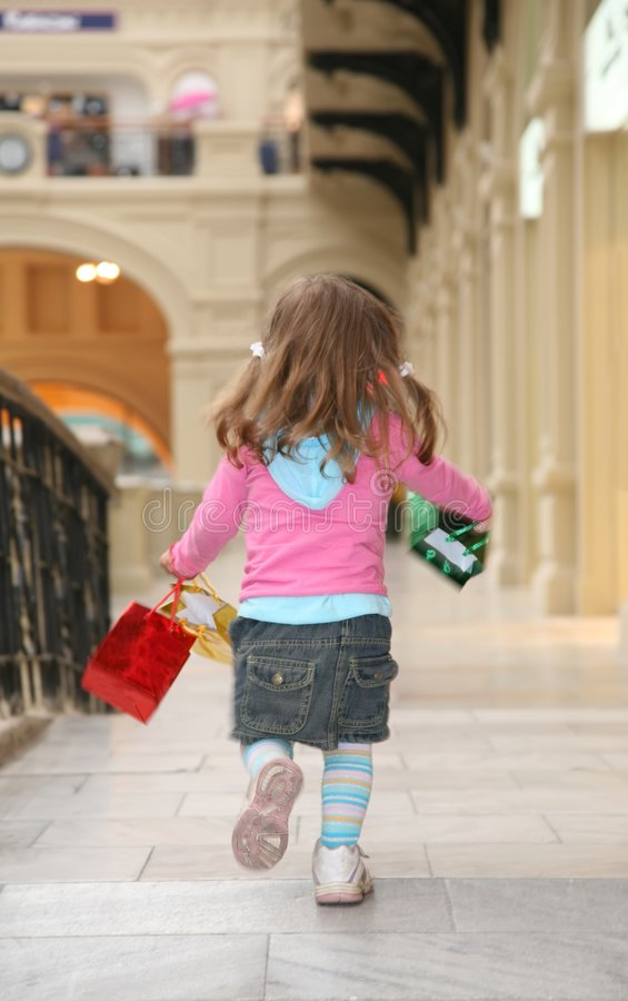 Camminata del bambino fotografia stock
