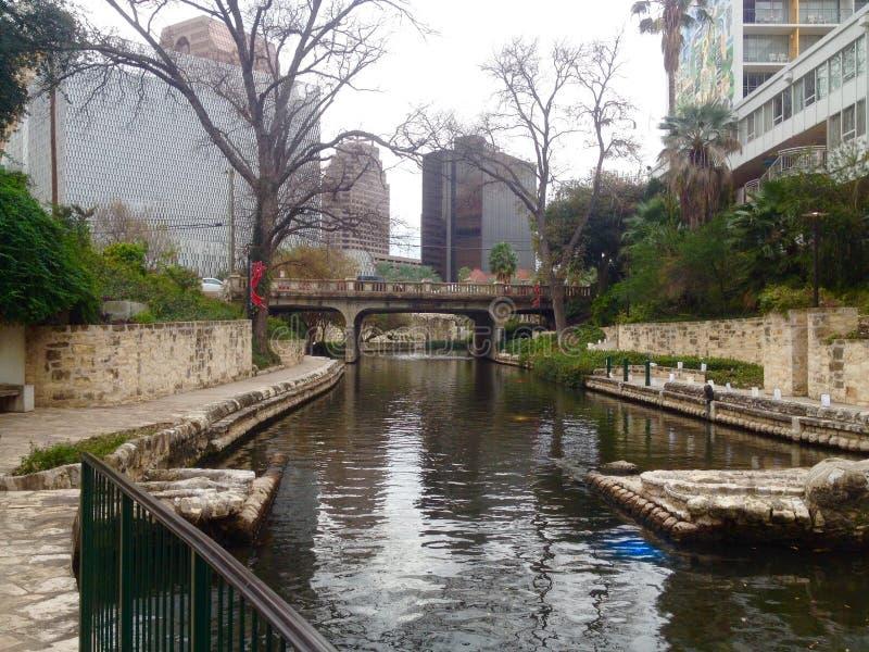 Camminata del fiume fotografia stock