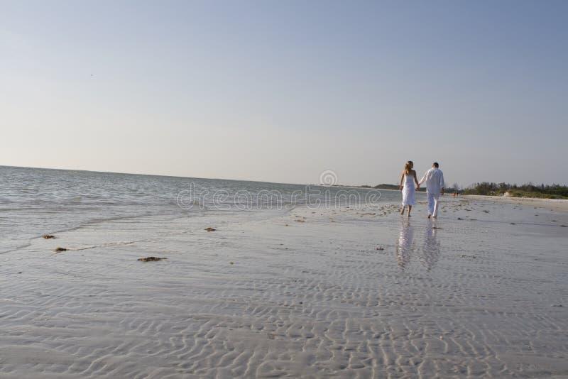 Camminata romantica immagine stock