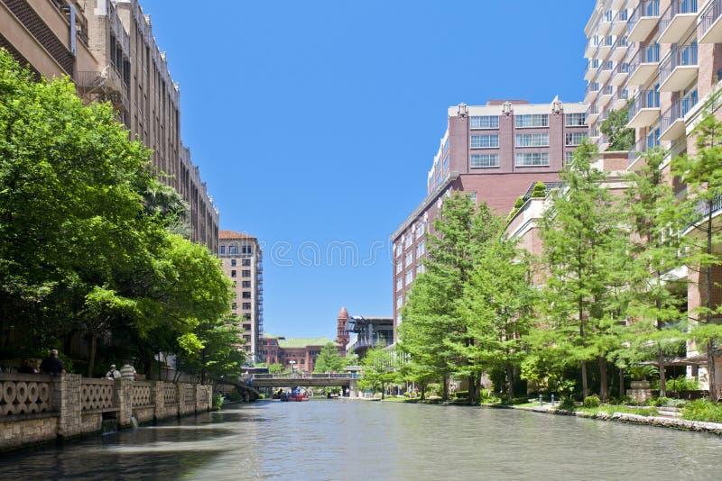 Camminata San Antonio il Texas del fiume immagini stock libere da diritti