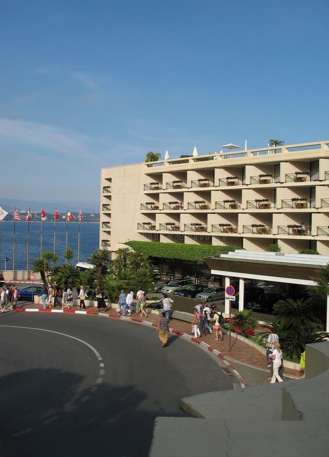 Camminata su Monte Carlo fotografie stock libere da diritti