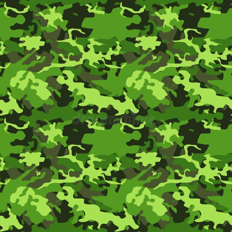 Cammuffamento verde dell'esercito royalty illustrazione gratis