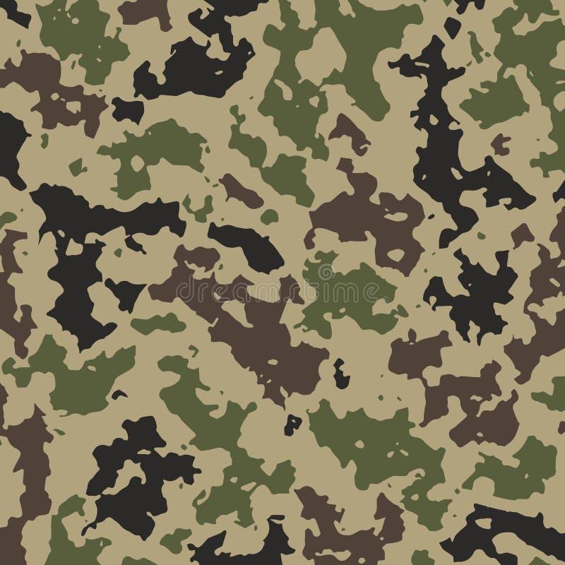 Cammuffi il fondo per i vestiti militari royalty illustrazione gratis