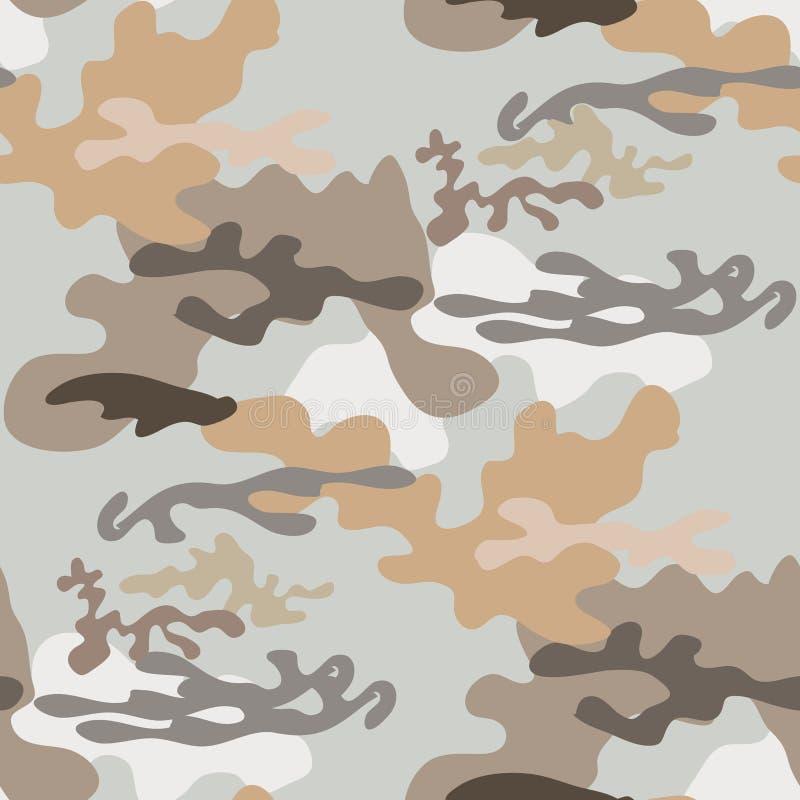 Camo άνευ ραφής pattern24 ελεύθερη απεικόνιση δικαιώματος