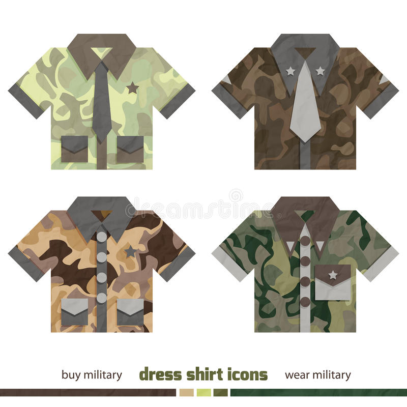 Free Camo Shirts Royalty Free Stock Images - 40891859