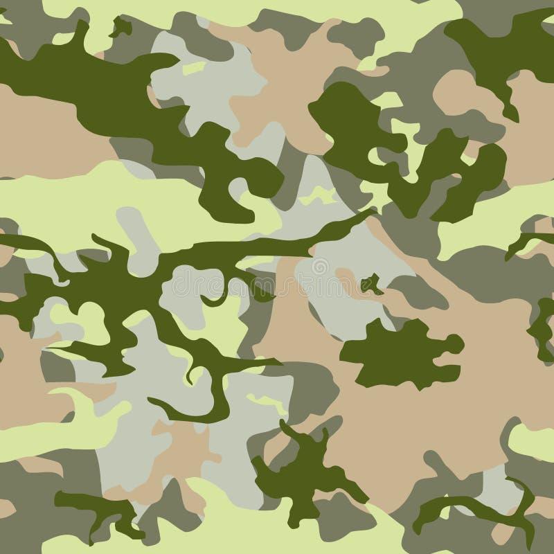 Camo verde dell'esercito illustrazione di stock