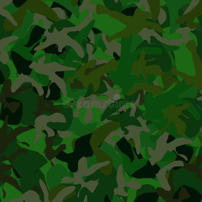 Camoflage Background royalty free illustration