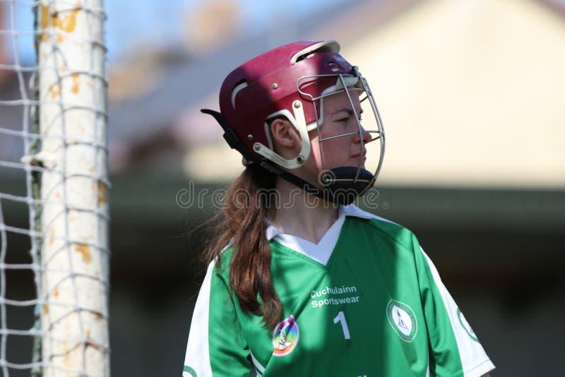 Camogie Junior Championship Semi Final - Limerick contre le li?ge photos stock