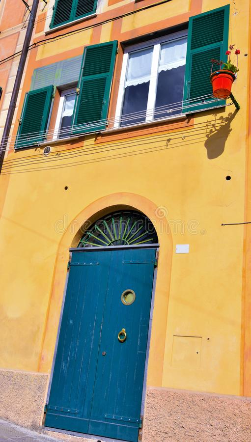 Camogli, Γένοβα, Ιταλία στοκ φωτογραφία με δικαίωμα ελεύθερης χρήσης