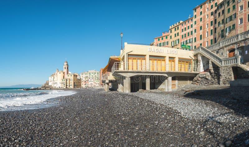 Camogli, επαρχία της Γένοβας στοκ φωτογραφίες με δικαίωμα ελεύθερης χρήσης