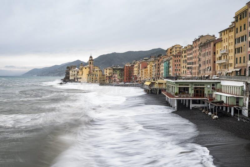 Download Camogli στοκ εικόνα. εικόνα από διάσημος, ιταλικά, ορόσημο - 62703941