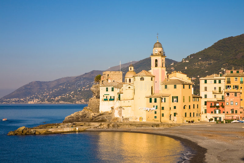 camogli Italy fotografia stock