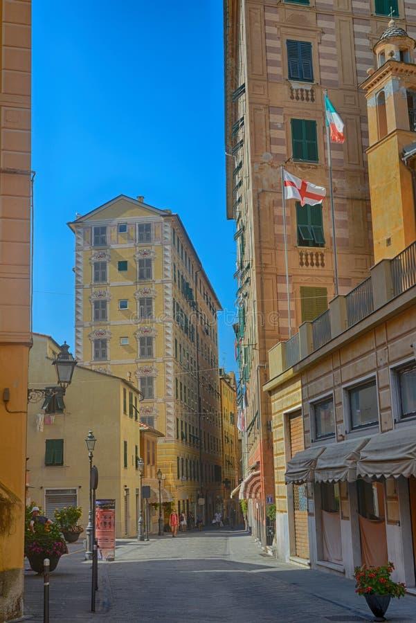 Camogli, Liguria, Italy imagem de stock