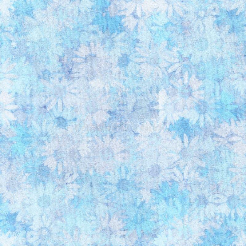 Camomiles azuis ilustração royalty free