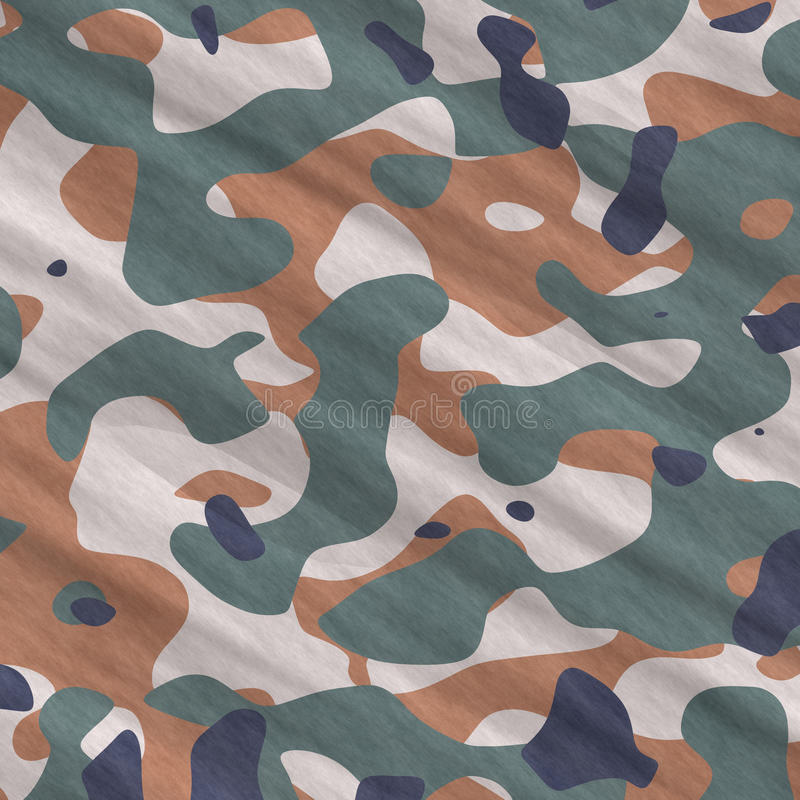 Download Camouflage stock illustration. Illustration of commando - 16826058