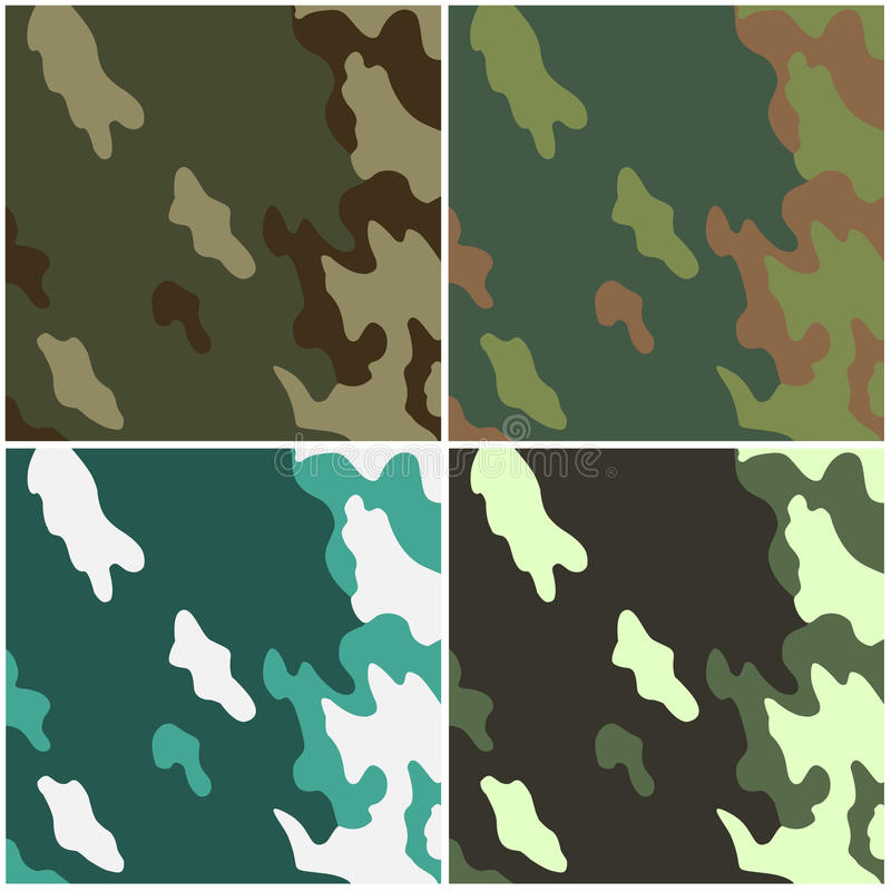 Download Camouflage stock illustration. Image of green, ilustration - 21597501