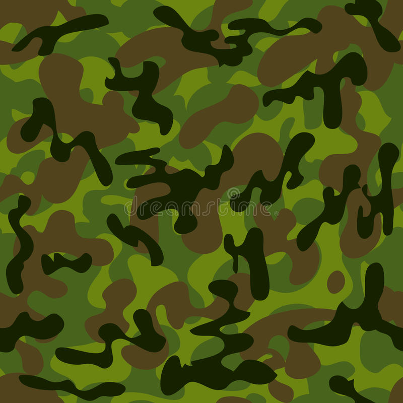 Download Camouflage stock vector. Illustration of back, repeat - 24400451