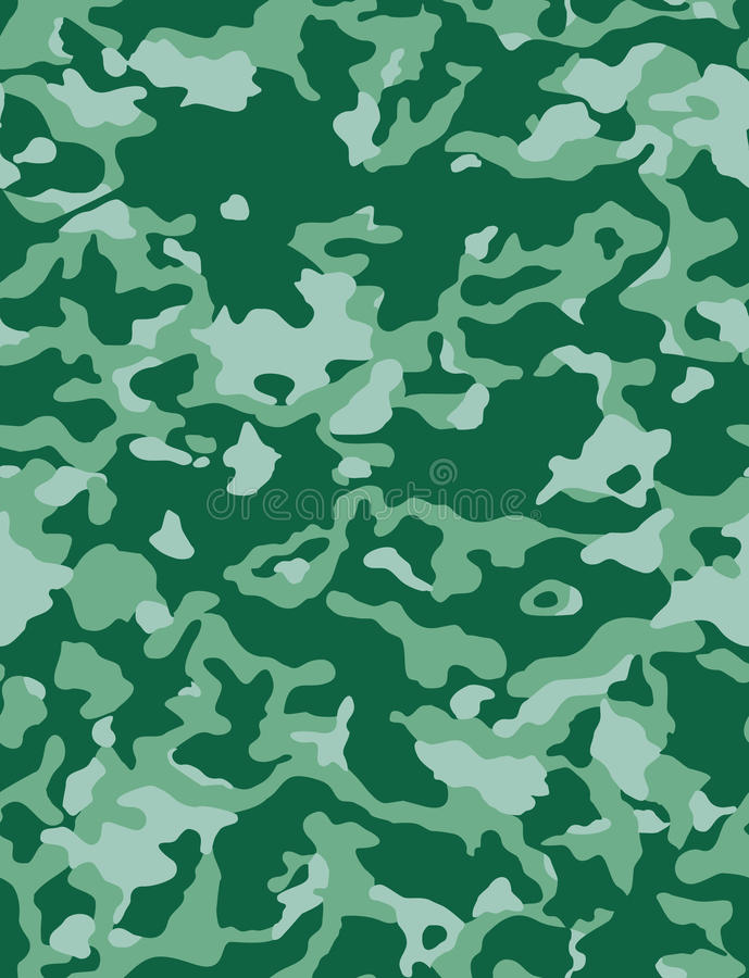 Camouflage illustration libre de droits