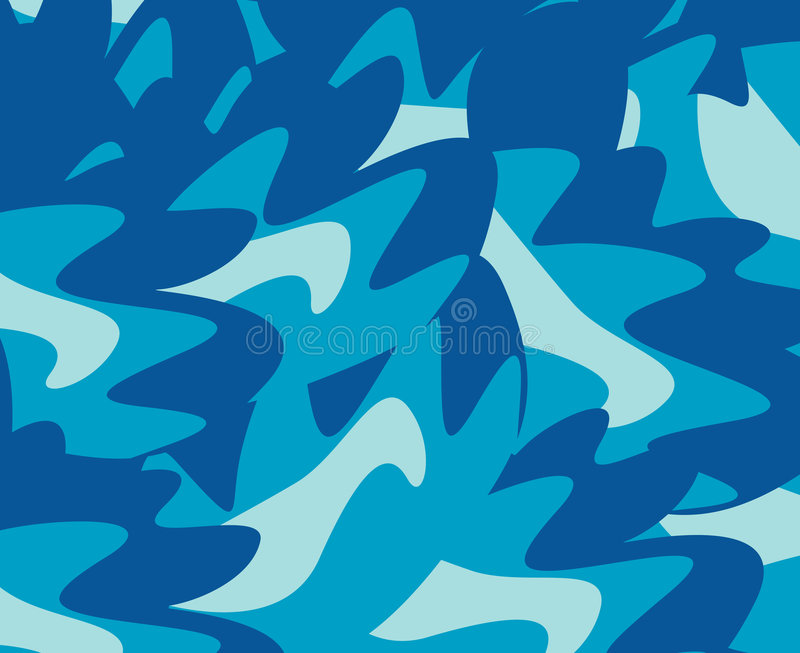 Camouflage illustration stock