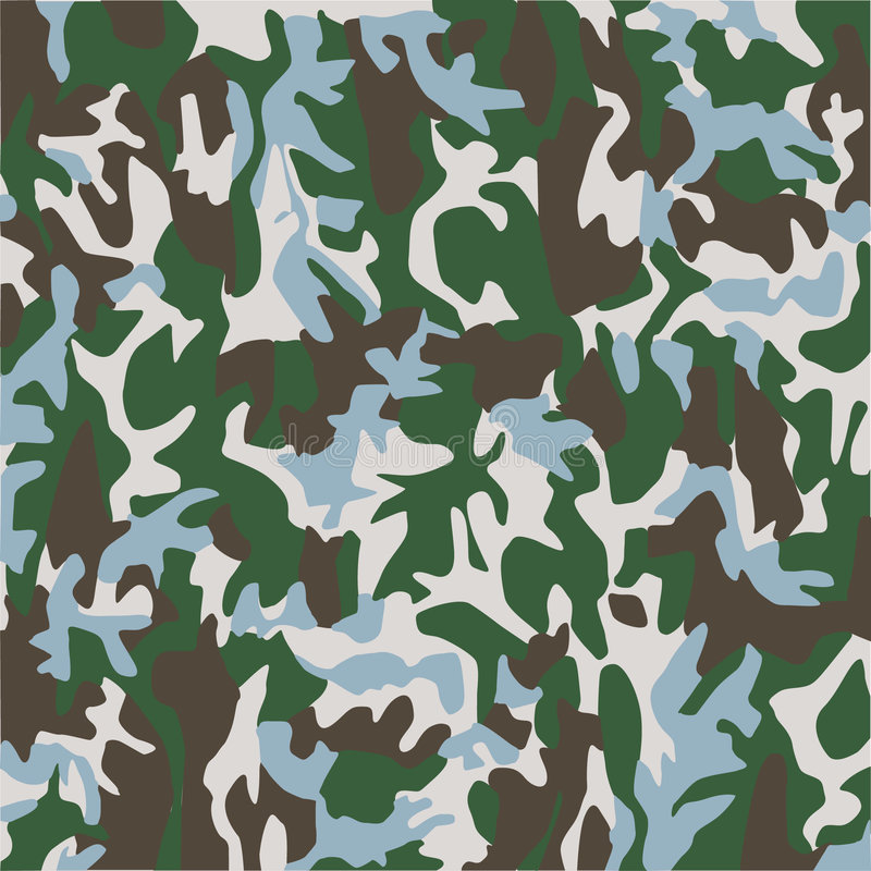 Camouflage stock illustration
