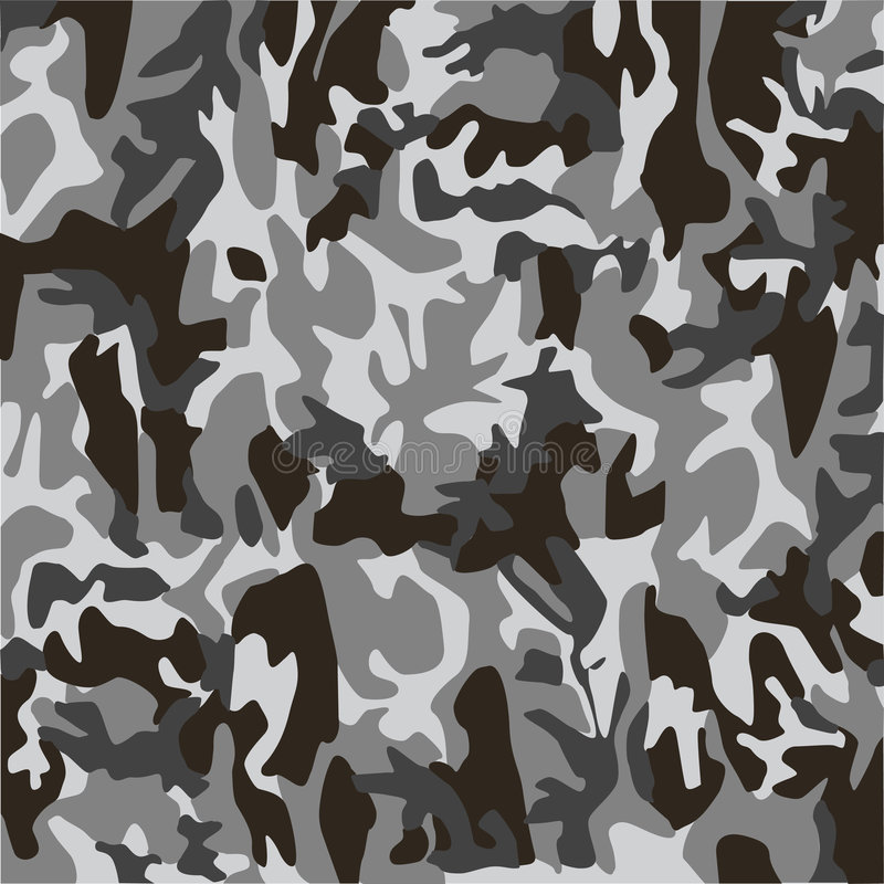 Camouflage royalty free illustration