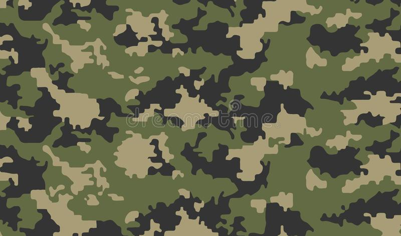 Camouflage background army abstract modern vector military backgound fabric textile print tamplate stock illustration