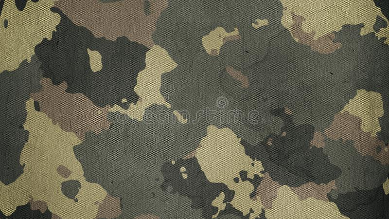 Camouflage cloth texture. Abstract background and texture for design stock image