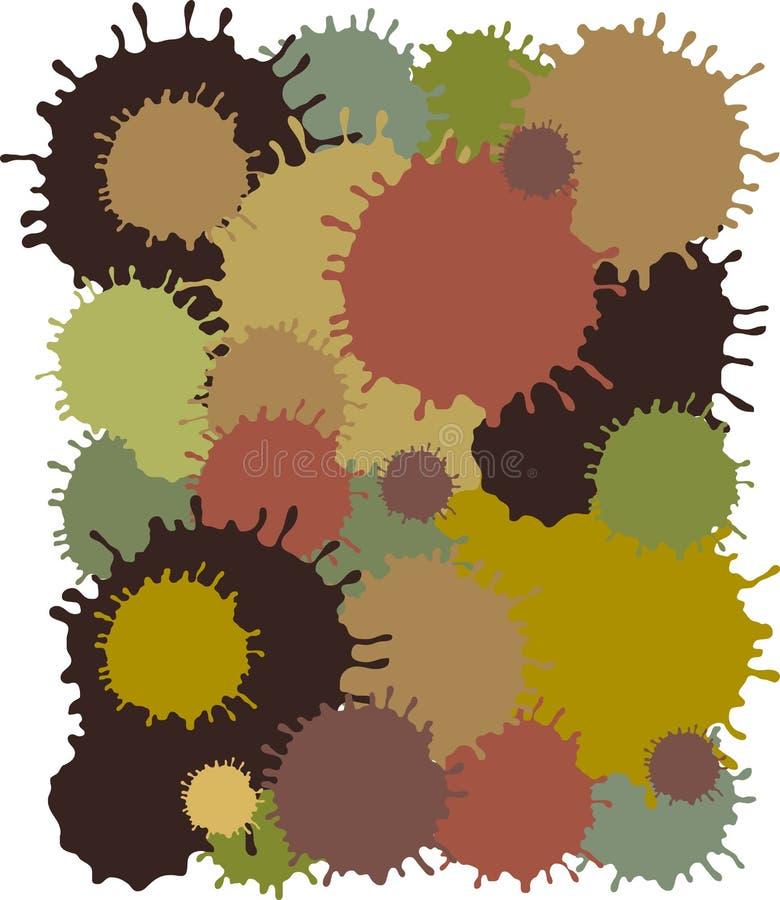 Camouflage de MudBlots illustration libre de droits