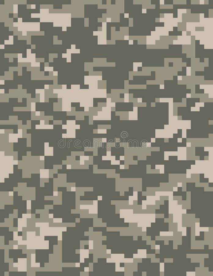 Camouflage de pixel illustration libre de droits