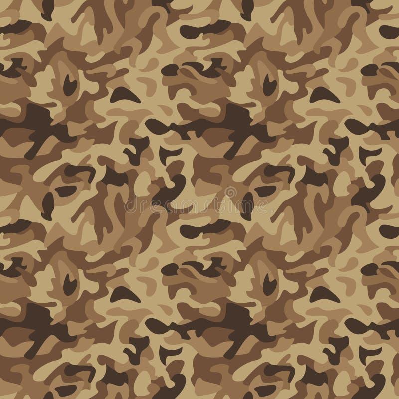 Camouflage_Desert classico royalty illustrazione gratis