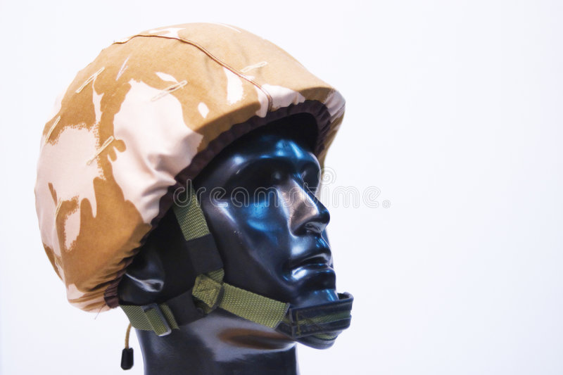 Download Soldier helmet stock photo. Image of dummy, closeup, bulletproof - 3773790