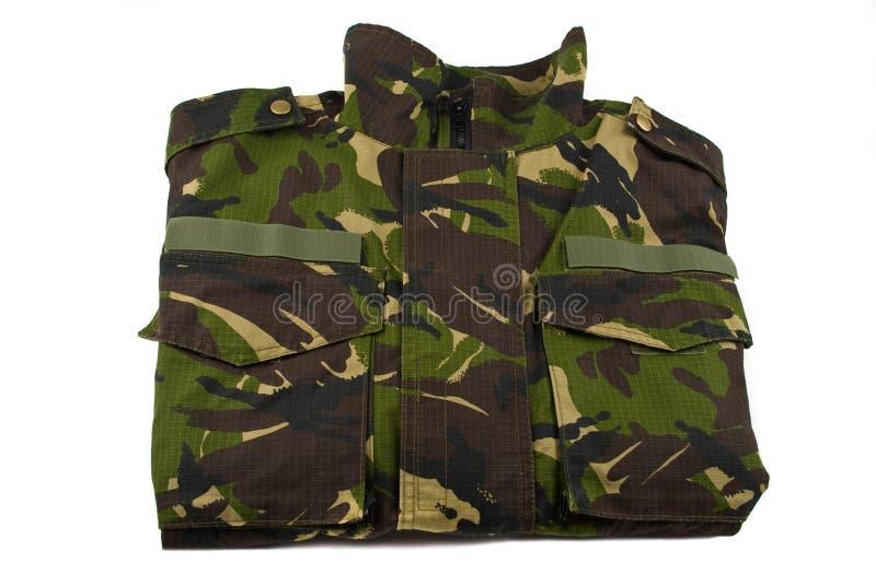 Camouflage jacket royalty free stock photos
