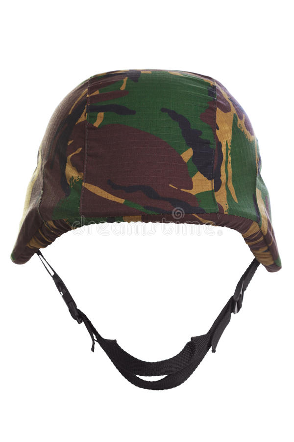Free Camouflage Kevlar Helmet Cut Out Royalty Free Stock Photos - 19388968