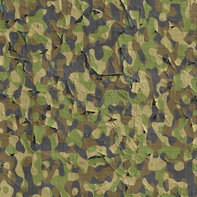 Camouflage material fabric vector illustration