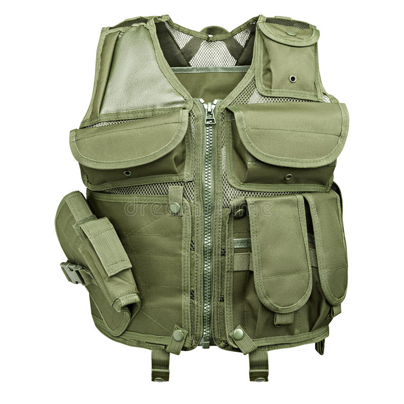 Camouflage, militair lichaamspantser, ledenpop royalty-vrije stock fotografie