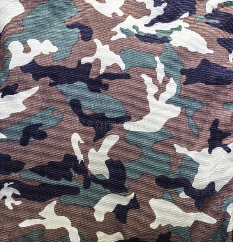 Camouflage military pattern stock photo
