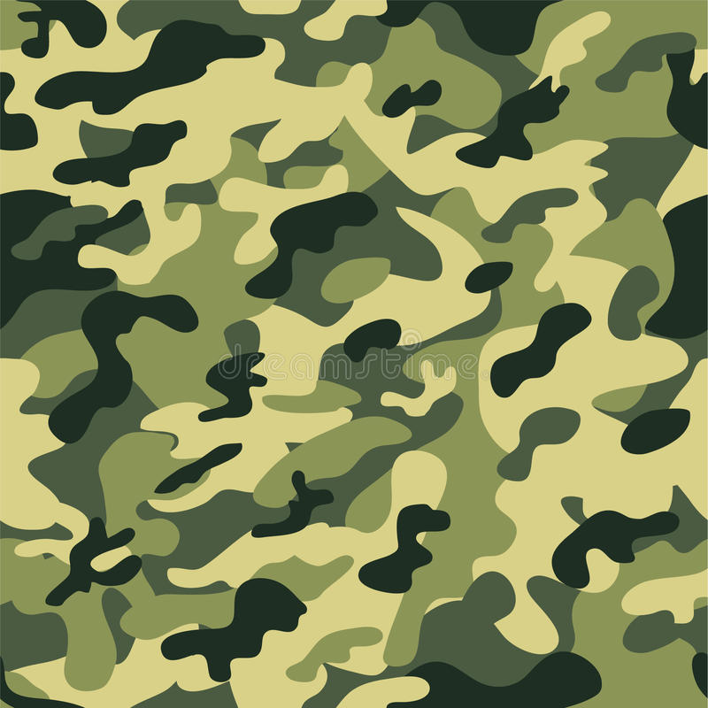 Camouflage pattern. Seamless camouflage pattern or background