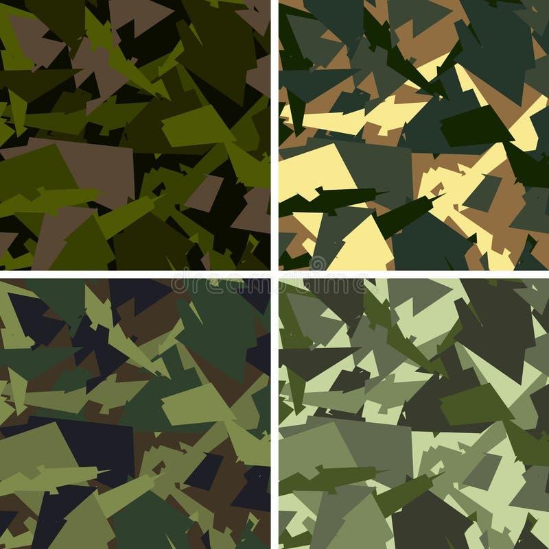Download Camouflage pattern stock vector. Illustration of desert - 14858909