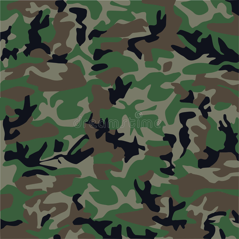 Camouflage pattern royalty free illustration