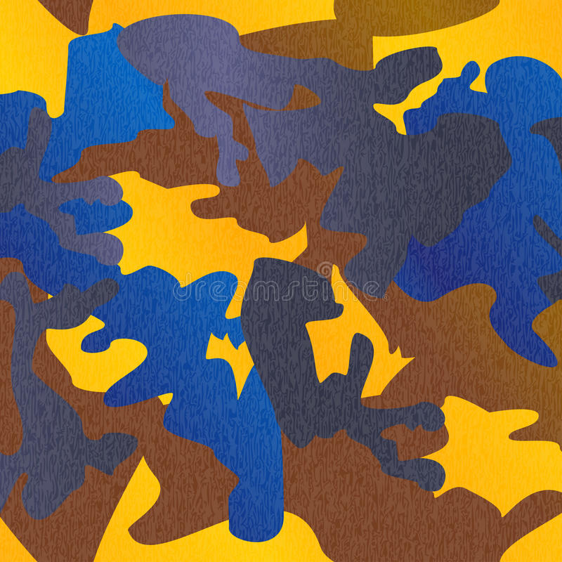 Free Camouflage Pattern Background Clothing Print, Repeatable Camo Gl Stock Photos - 83425393