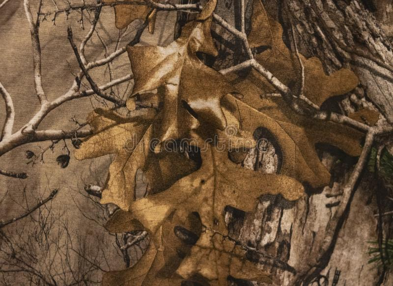 A Camouflage Pattern Close Up royalty free stock photography