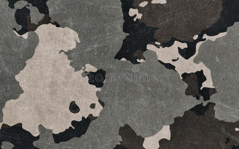 Camouflage pattern cloth texture. Background and texture for design royalty free illustration