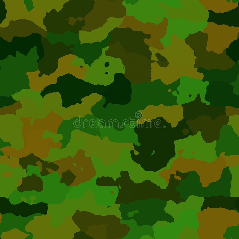 Camouflage pattern texture vector illustration